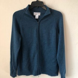 Pendleton Merino Wool Full Zip Cardigan Sweater
